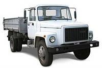 Лобовое стекло ГАЗ 3307, 3309, 4301, 4509, триплекс