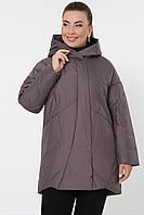 Куртка демисезонная на осень весна размер 48-56 ниже бедра большие размеры