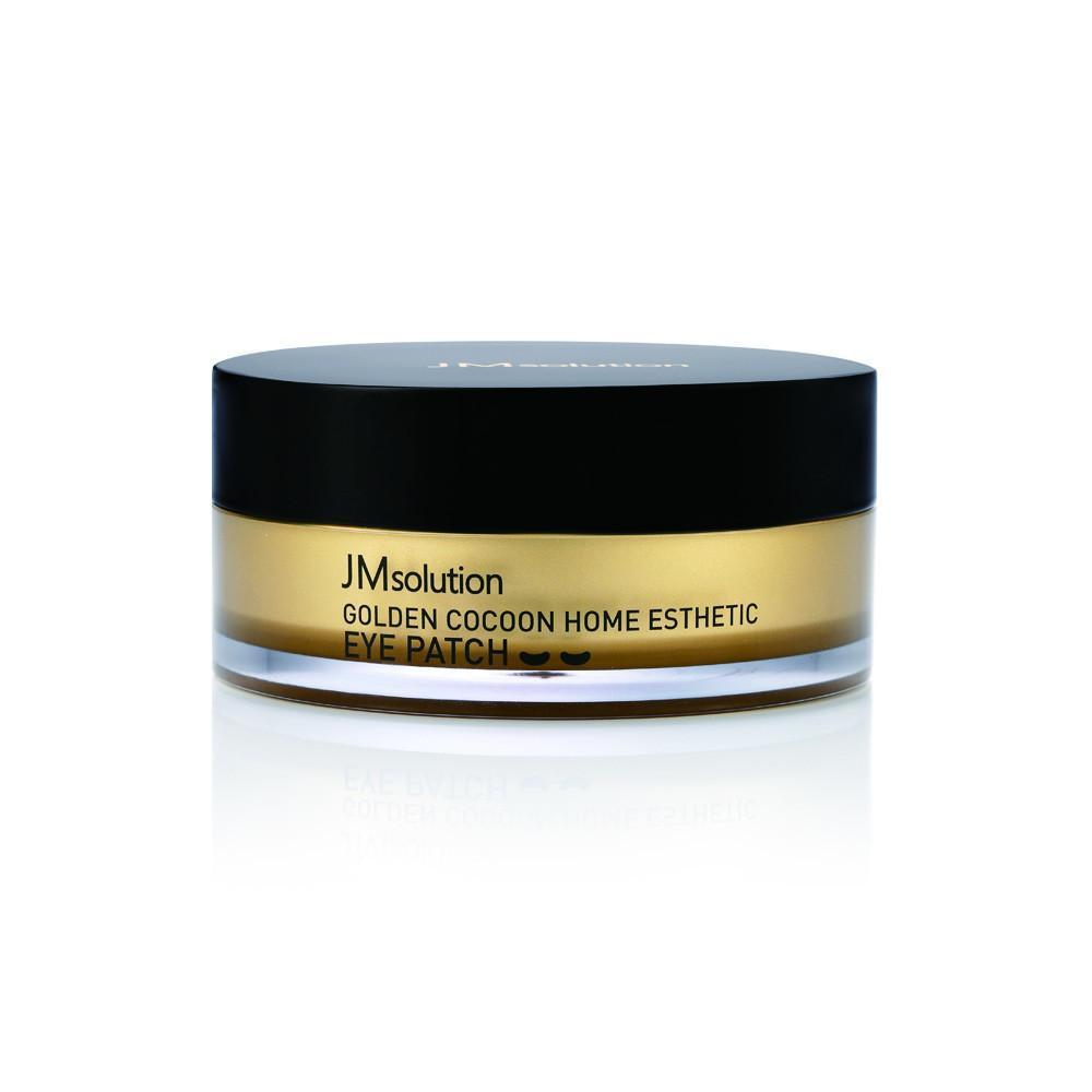 Гидрогелевые патчи с экстрактом золота и шелкопряда JM Solution Golden Cocoon Home Esthetic Eye Patch(Medium)