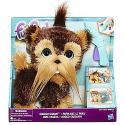 """Интерактивная мягкая игрушка Hasbro FurReal Friends """"Лохматый пес"""", коричневый (E0497)"""