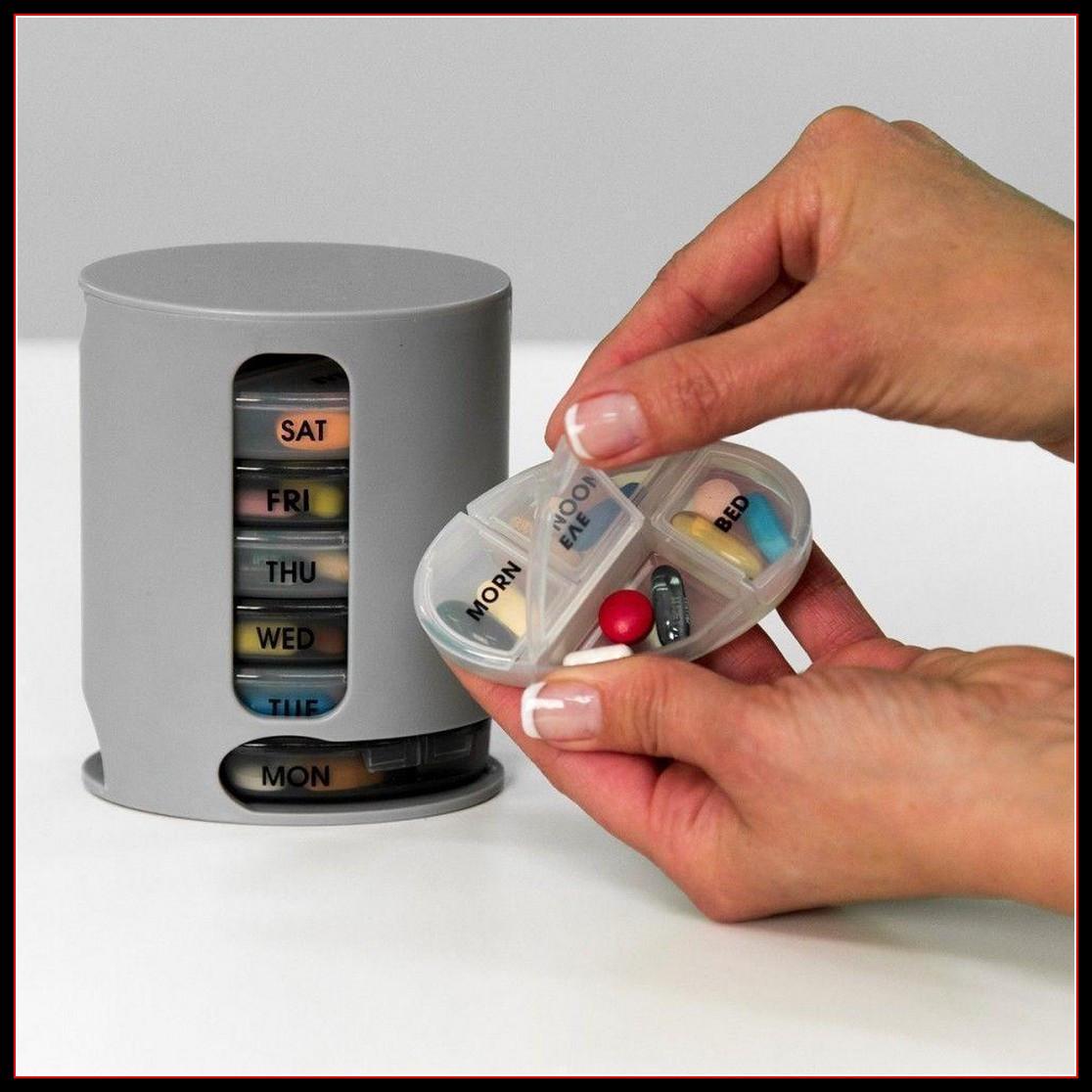 Органайзер для хранения таблеток на 7 дней Pill Pro