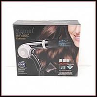 Профессиональный фен Kemei KM-8869 3000W с функцией ионизации волос