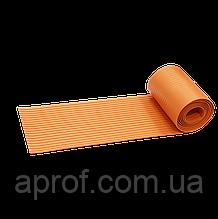 Протиковзка стрічка гумова (3000х195 мм), Помаранчева