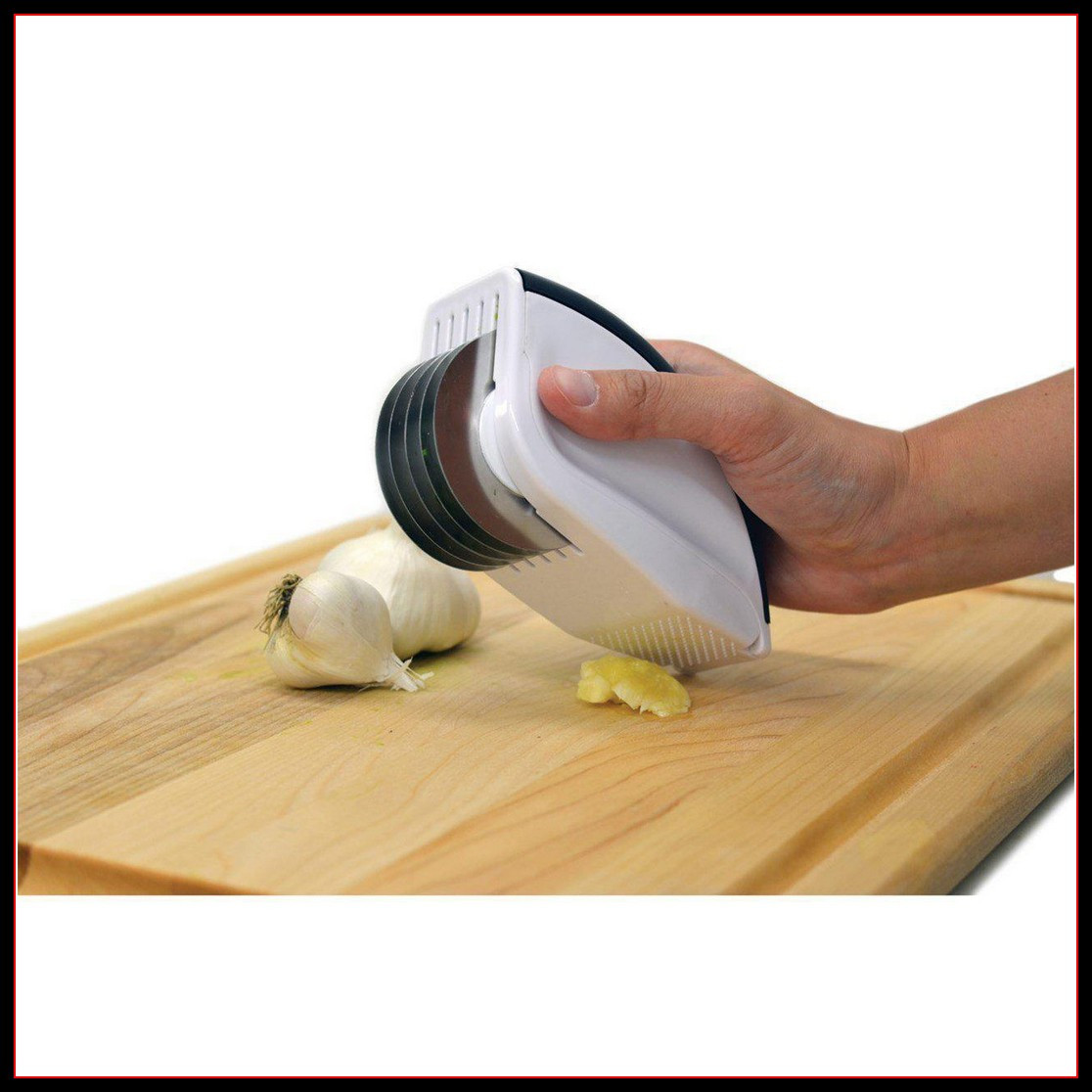 Нож для нарезки 3 в 1 Rolling mincer 6 лезвий