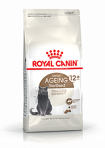 Корм для стерилизованных кошек от 7 лет Royal Canin STERILISED 12+ 0,4 кг