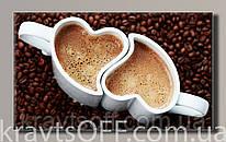 "Картина на холсте "" Love Kafe '' ( 55х91 см )"