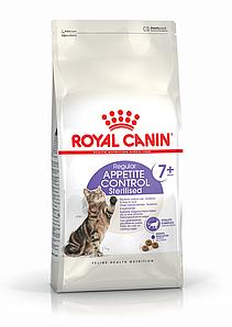 Корм для стерилизованных кошек от 7 лет Royal Canin STERILISED APP.CONTROL7+ 0,4 кг