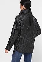 Куртка стильная женская демисезонная с капюшономукороченная размер 42-50, фото 2