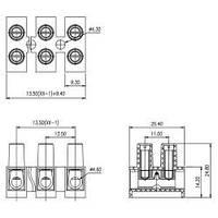 Клеммная колодка CY14HW-12P-1.2