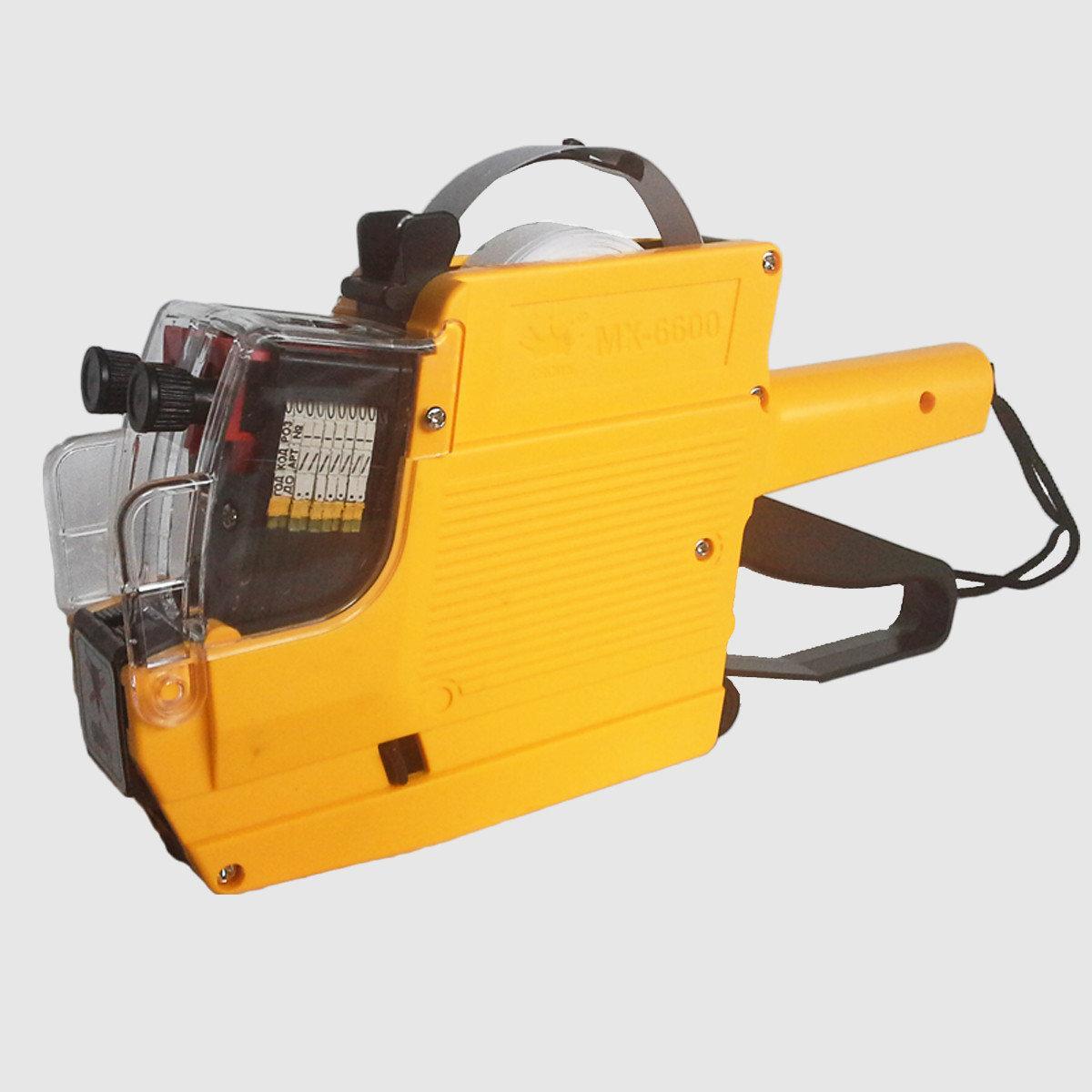 Этикет- пистолет нумератор МХ - 6600 для ценников