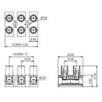 Клеммная колодка CY10HW-12P-1.2