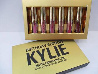 Набор матовых жидких помад Kylie Birthday