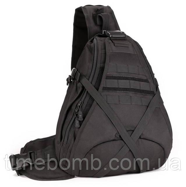 Большой тактический рюкзак 25L черный