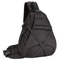Большой тактический рюкзак 25L черный, фото 1