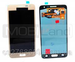 """LCD Samsung A300, A3 2015 + Touchscreen (gold) """"Original"""""""