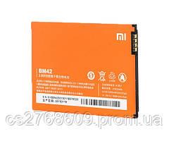 Акумулятор 100% Original Xiaomi BM42/Redmi Note