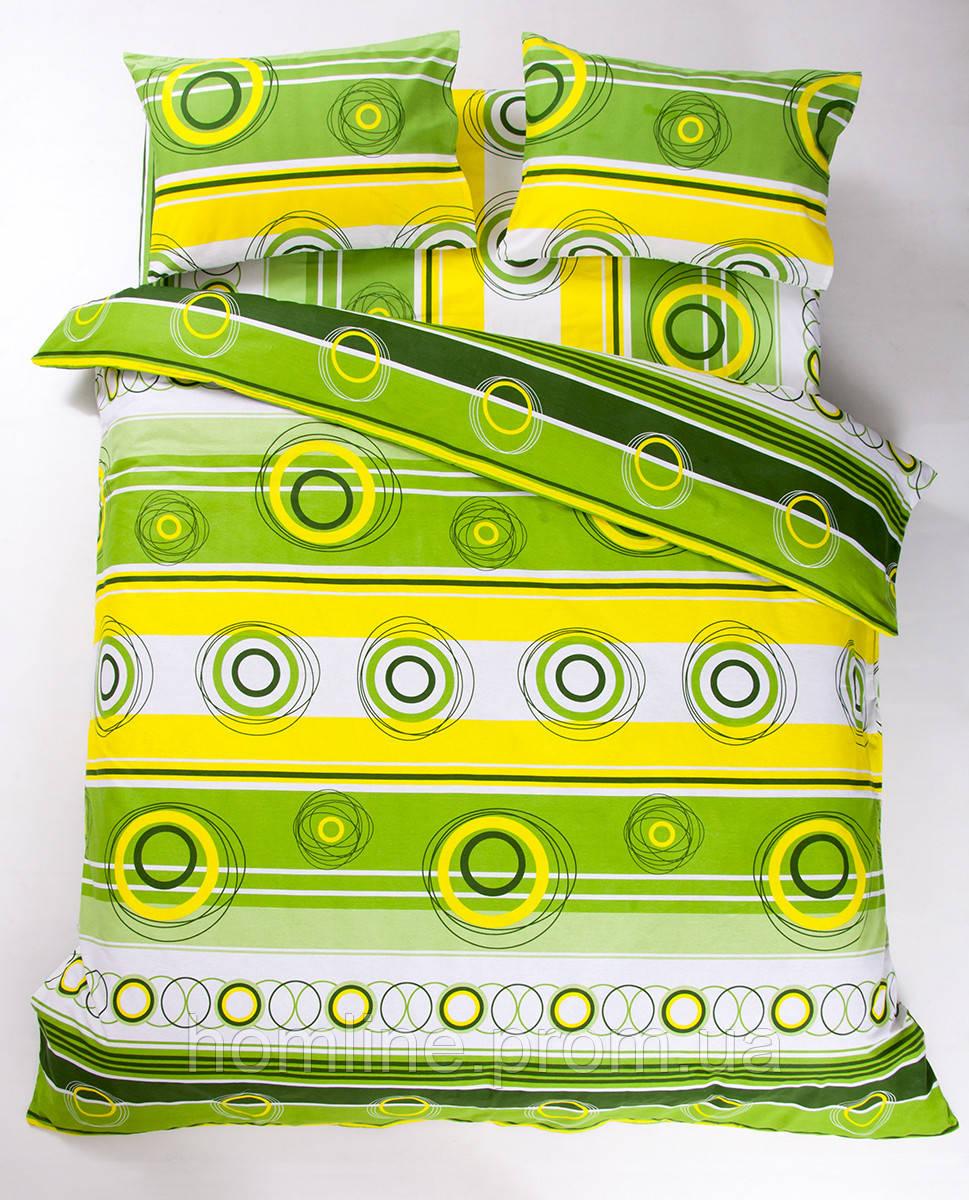 Постельное белье Lotus Ranforce Sweet зеленый семейного размера
