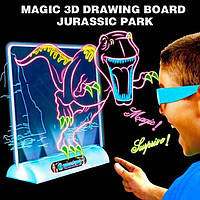 Магическая 3D доска для рисования / magic drawing board 3d