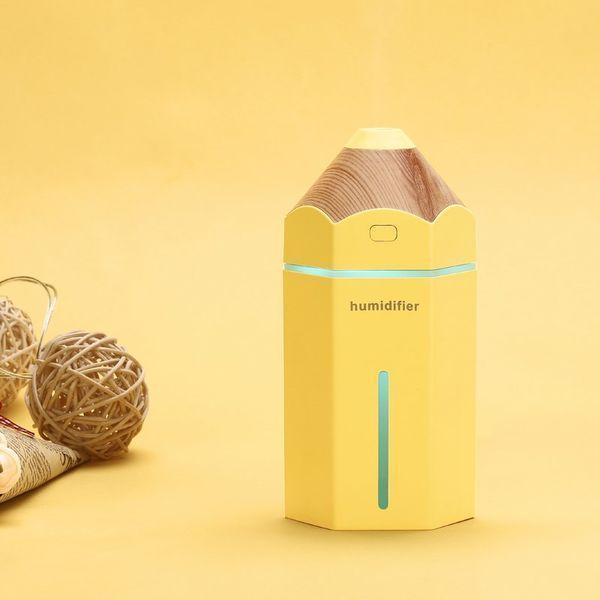 Мини увлажнитель humidifier воздуха Pencil Yellow