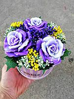 Цветы из мыла Ручная работа