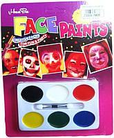 Грим карнавальный 6 цветов