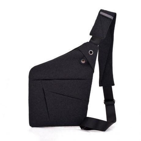 Мужская сумка Cross Body / Сумка Мессенджер Fino(черный)