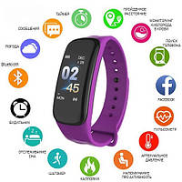 Фитнес-браслет 6 purple