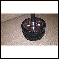 Бездымная пепельница - Колесо-шина 10 см, подарок мужчине автомобилисту