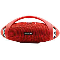 Мощная портативная bluetooth колонка Hopestar Stereo H37 с FM Радио Red
