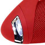 Мощная портативная bluetooth колонка Hopestar Stereo H37 с FM Радио Red, фото 3