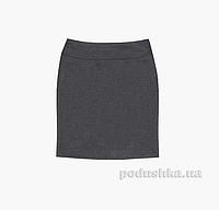 Прямая юбка с кокеткой Panda ПА-06451-14 серая 42 (Р-164, ОГ-84, ОТ-72)