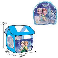 Палатка детская Холодное сердце в сумке 114*102*112