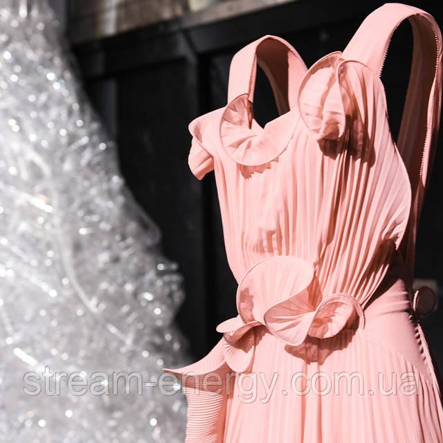 stream-energy платье из пластика