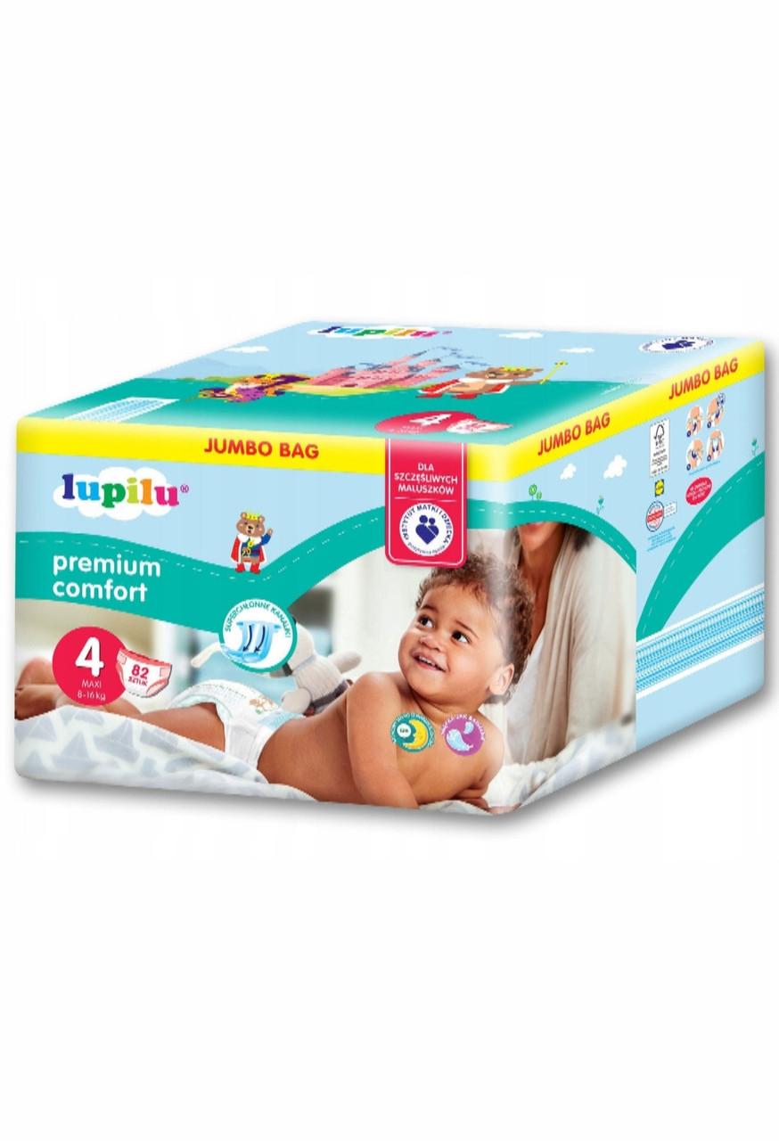 Подгузники Lupilu Premium Comfort №4 (7-18 кг) 82 шт