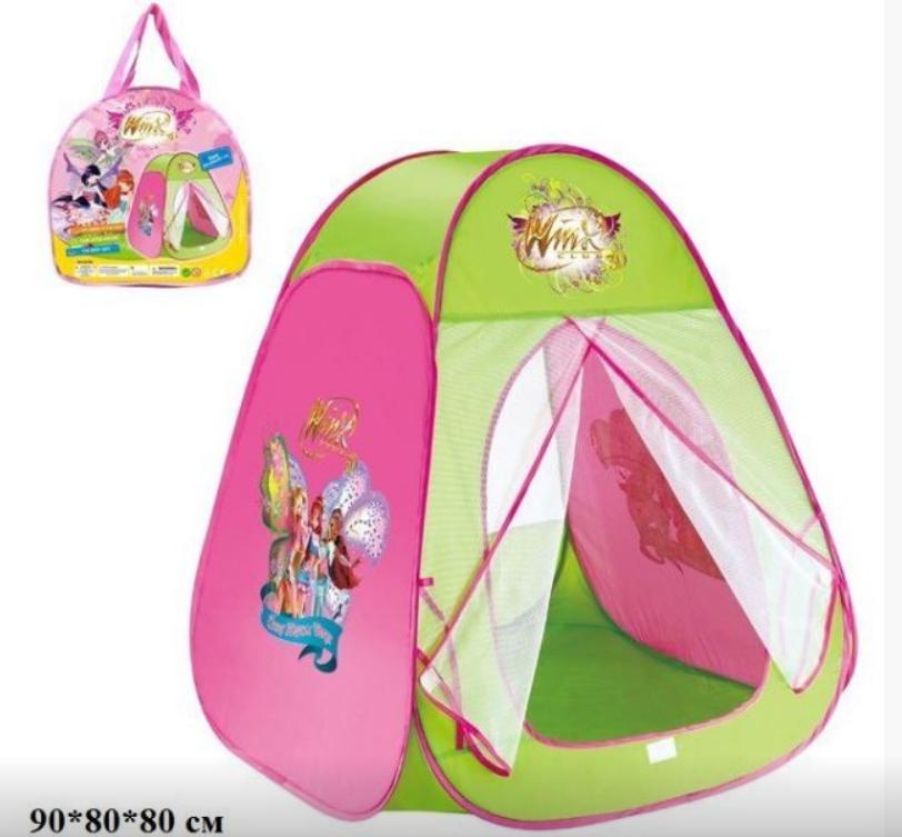 Палатка детская Winx в сумке 90*80*80 см