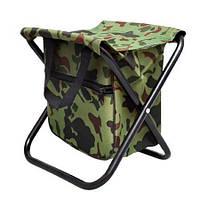 Стул Рыбак раскладной туристический с сумкой 25х22 см