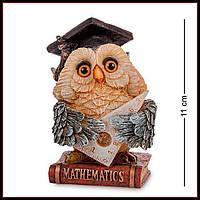 Статуэтка фигурка Сова математик Sealmark, подарок учителю