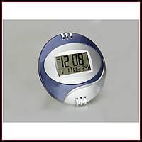 Электронные настенные часы Kenko КК 6870 с термометром