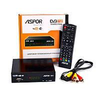 Цифровой T2 тюнер ресивер Aspor DVB 603 (цифровое телевидение T2)