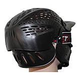 Маска для пейнтболу Great з подвійним склом і повним захистом голови, фото 2