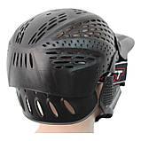 Маска для пейнтболу Great з подвійним склом і повним захистом голови, фото 3