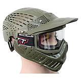 Маска для пейнтболу Great з подвійним склом і повним захистом голови, фото 6