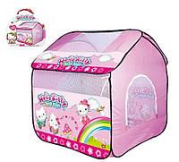 """Палатка детская """"Hello Kitty"""" в сумке 102*110*120"""