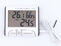 Термометр гигрометр (цифровой измеритель влажности воздуха) с выносным датчиком DC-103