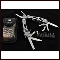 Нож многофункциональный складной для выживания охоты и рыбалки мультитул 629