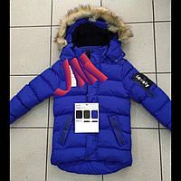 Детская зимняя куртка для мальчиков оптом  H&H