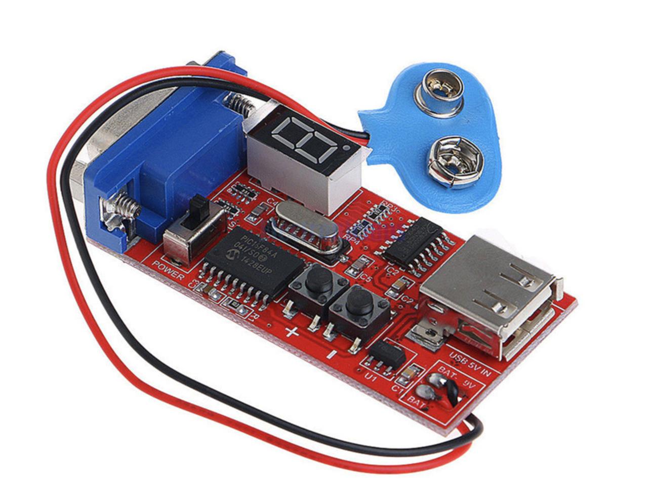 VGA генератор сигналів - тестер моніторів