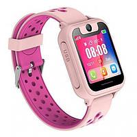 Детские смарт-часы с GPS 6 pink