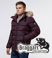 Braggart Aggressive - Зимняя куртка для мужчин темно-бордовая
