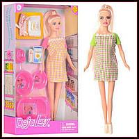 Беременная кукла DEFA с аксессуарами 8350